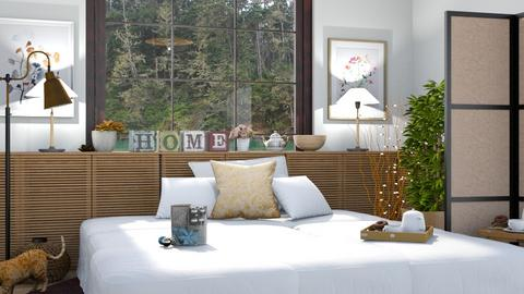 Feng Shui Bedroom - Modern - Bedroom  - by malithu damsath