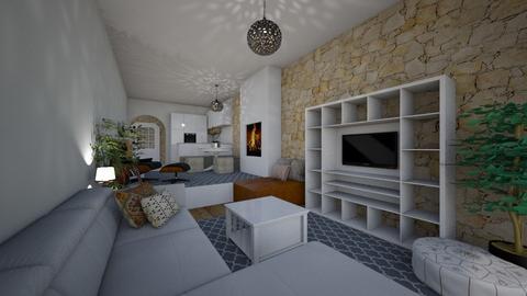 Rubio House Ibiza - Living room  - by Lisett