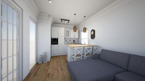 czysty pokoj 2 - Classic - Kitchen  - by krzysPolska