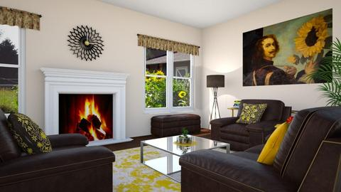 Sunflower Living  - Living room  - by Tzed Design