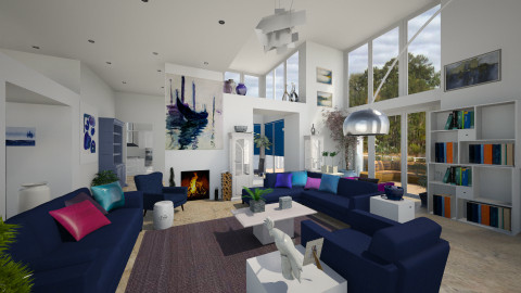 VPAs Brand New Home - Living room  - by Lackew