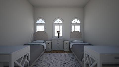 Twin room - Kids room - by Mcflash44