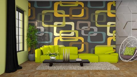 GEOMETRICO - Living room  - by Alecio