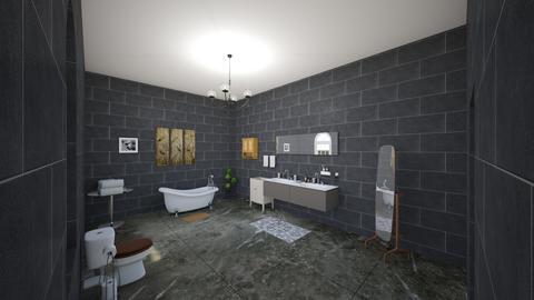 family bathroom - Modern - Bathroom - by jadarose