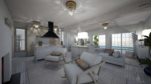 Sant Jori house - Living room  - by Lisett