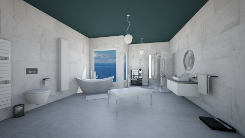 Bathroom Bojan - Glamour - Bathroom  - by Annathea