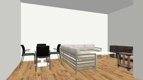 L shaped couch - Living room - by bgrammar