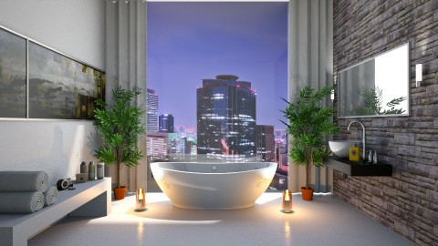 bathroom 1 - Modern - Bathroom - by InaasAzizah