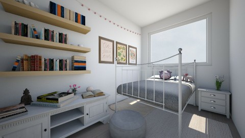 1 - Bedroom - by Kylie Gallant