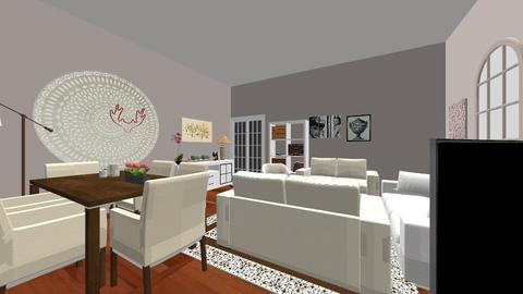 salonesterraza - Living room  - by alcarmer