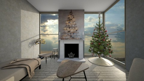 White Xmas - Modern - Living room  - by camilla_saurus