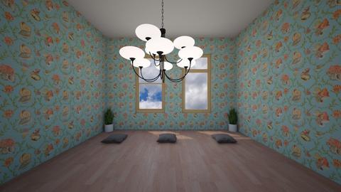 Yoga room - Retro - by Manuel_Garcia