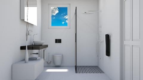 MINIMALISTA  - Bathroom  - by Rose Hdz