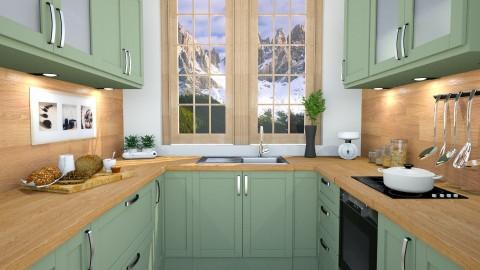 mini kitchen - Kitchen - by dddare