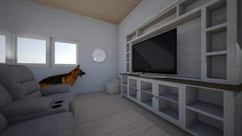 Dream House Finn Gray - Minimal - Kids room  - by finnwhit17