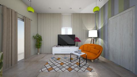 m1 - Modern - Living room  - by mofadl