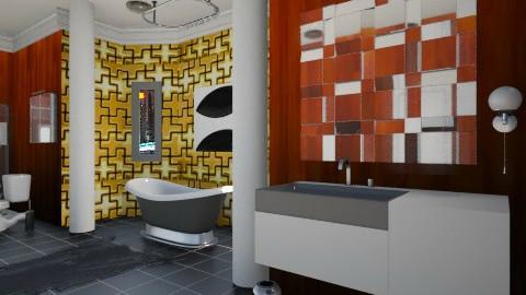 Luxury - Modern - Bathroom  - by MNOP