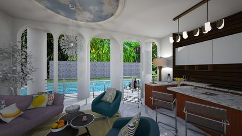 Versace Open Living - Living room - by ppolicar