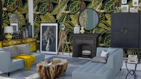 eclectic jungle - Living room - by Ripley86