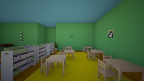 classroom - by livjoan