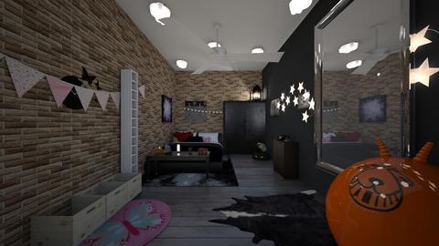 My Alt Teen Bedroom - Bedroom  - by VampireBlood