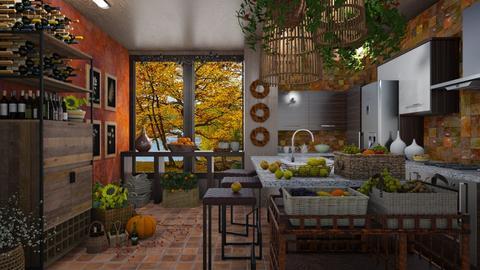 Autumn in my kitchen  - Kitchen  - by Ida Dzanovic