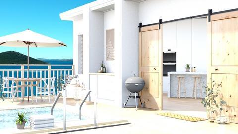Split Rooftop Terrace - by Katjie