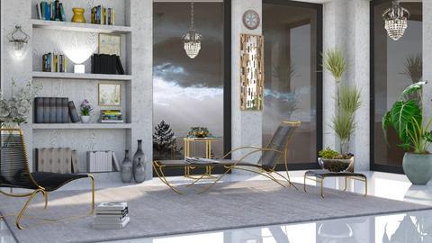 M_ Walter - Living room  - by milyca8