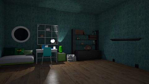 islas room - Modern - Kids room  - by matildabeast
