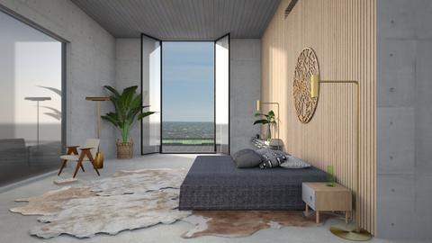 feng shui bedroom - Modern - Bedroom  - by kitty