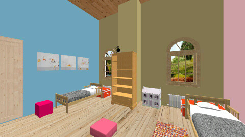 kids bedroom - Classic - Kids room  - by chiara passerini