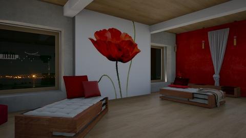 Poppy L - Living room - by ilikalle