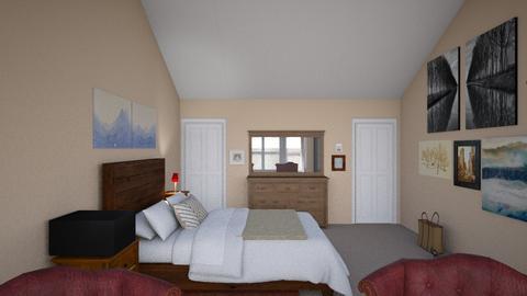 Master Bedroom - Country - Bedroom  - by janAllan