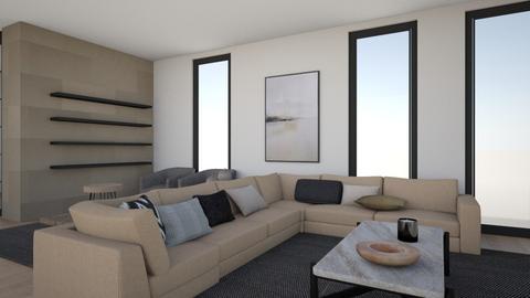 Wyczisk - Living room  - by thehouseofa