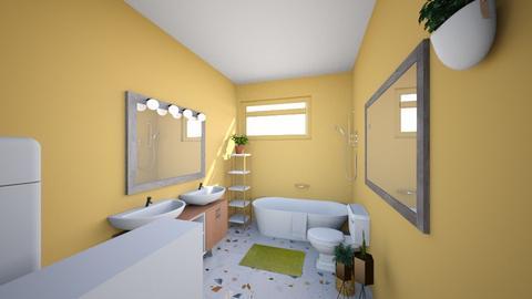Bano Remodelado I - Bathroom  - by alejandracardenas