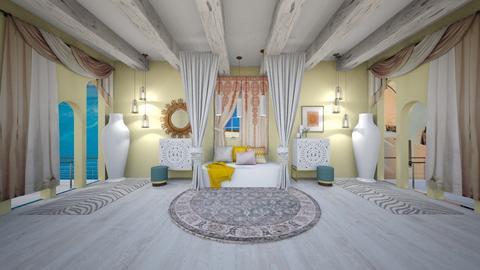 Golden Hour - Modern - Bedroom  - by evabarrett