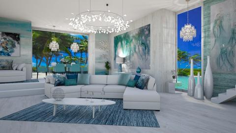 FLORIDA INSPIRED LIVING  - Modern - Living room  - by RS Designs