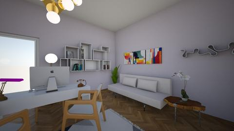 office - Modern - Office  - by agata03