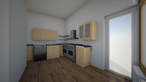 2e ontwerp - Kitchen  - by hans1104
