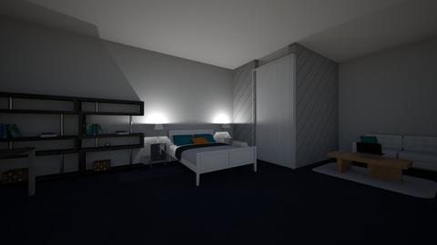 dylans room - Modern - Bedroom - by sliderbily