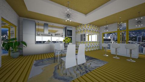 ZBDr - Modern - Dining room - by Saj Trinaest