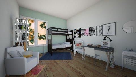 Audrey Hepburn Bedroom - Bedroom - by Sunny Bunny