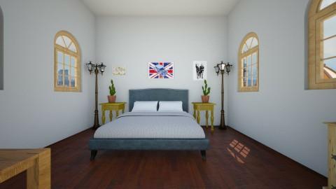 Farm Room - Rustic - Bedroom  - by sarah4842