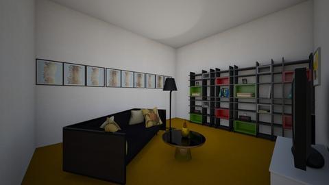 Pineapple design - Modern - Living room  - by kathryn_h04