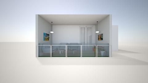 Bedroom balcony outside - by saratevdoska