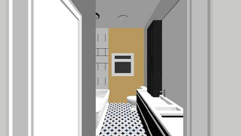 bathroom dark - Bathroom  - by micheleweissglaza