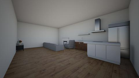 Kitchen and Living Room - Kitchen  - by elianagreenberg25