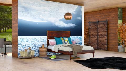 wood Bed room - Bedroom  - by malithu damsath