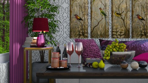 weekend  - Eclectic - Living room  - by Ida Dzanovic