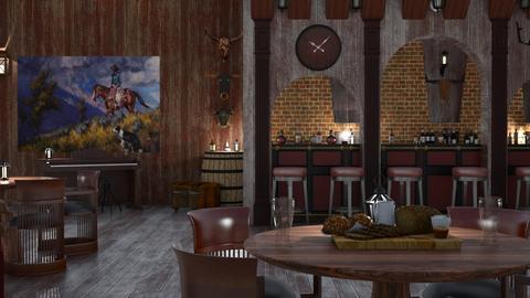 M_ Western Saloon D - by milyca8